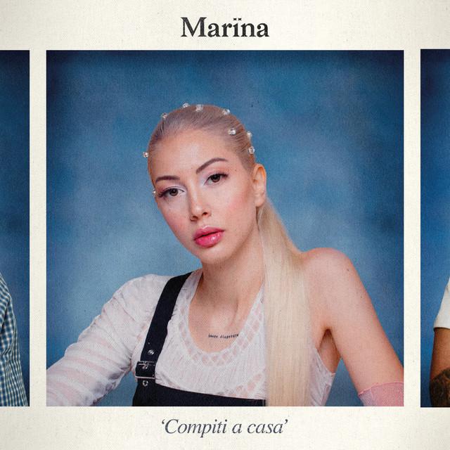 Album cover for Compiti a casa by Marïna, Sick Luke