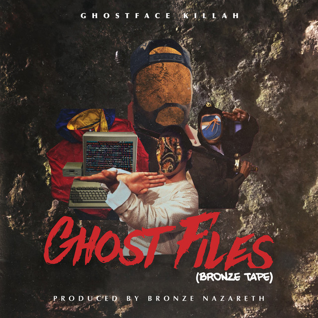 Album cover for Ghost Files - Bronze Tape by Ghostface Killah