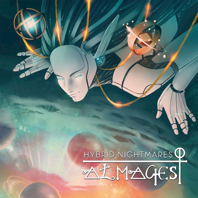 Album cover for Almagest by Hybrid Nightmares