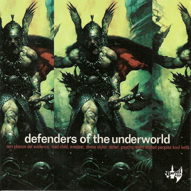 Various Artists Defenders of the Underworld album cover