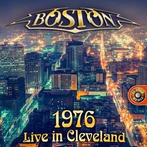 Boston Live (Cleveland 1976) Albumcover