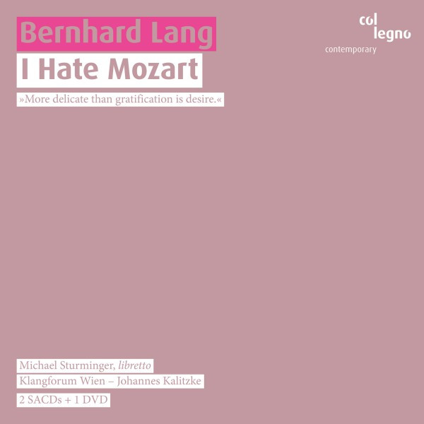 I Hate Mozart Live By Bernhard Lang On Spotify