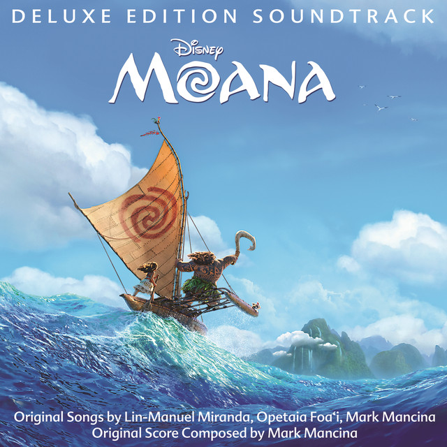 Album cover for Moana (Original Motion Picture Soundtrack/Deluxe Edition) by Various Artists