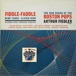 Boston Pops Orchestra, Arthur Fiedler The Syncopated Clock cover