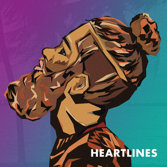 Album cover for Heartlines - EP by GNRA