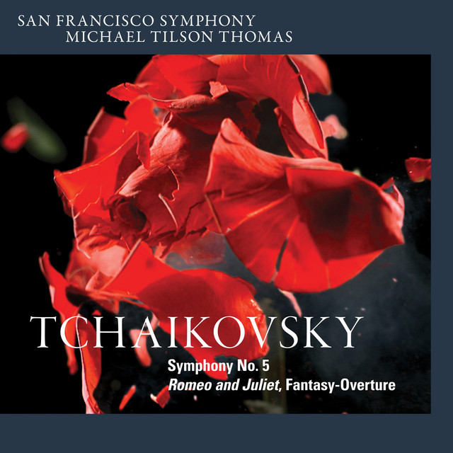 Tchaikovsky: Symphony No. 5 & Romeo and Juliet, Fantasy-Overture Albumcover