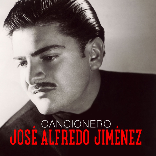 Album cover for Cancionero by José Alfredo Jimenez