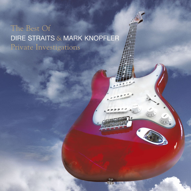 Dire Straits The Best of Dire Straits & Mark Knopfler: Private Investigations album cover