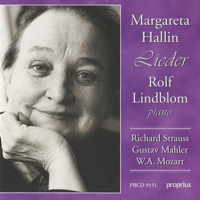 Strauss, R. - Mahler - Mozart: Lieder Albumcover