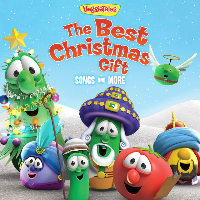 Album cover for The Best Christmas Gift Songs And More by VeggieTales