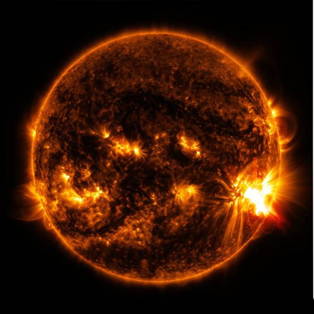 Solstormer kan slå oss ut