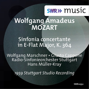 Mozart: Sinfonia concertante in E-Flat Major, K. 364 Albümü