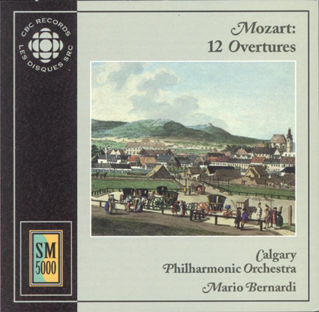 Mozart: Opera Overtures Albumcover