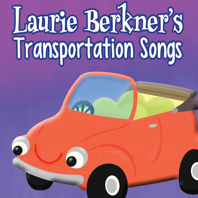 Laurie Berkner's Transportation Songs Albumcover