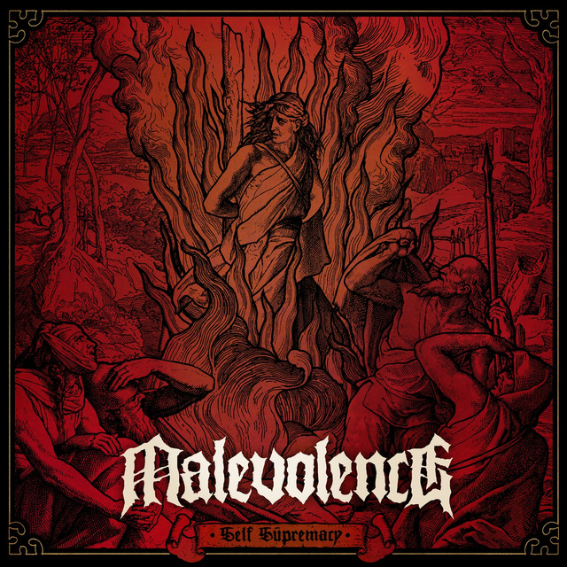 Album cover for Self Supremacy by Malevolence