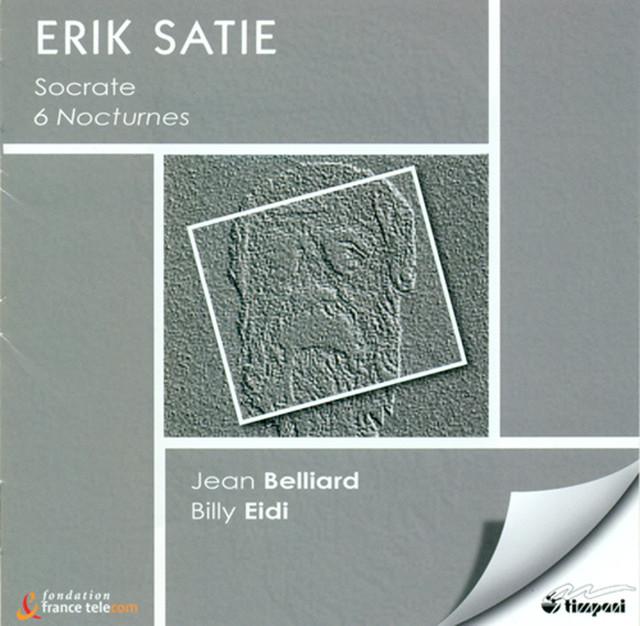 Satie, E.: Nocturnes / Socrate / Premier Menuet Albumcover