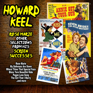Howard Keel, MGM Studio Orchestra and Chorus The Girl That I Marry cover