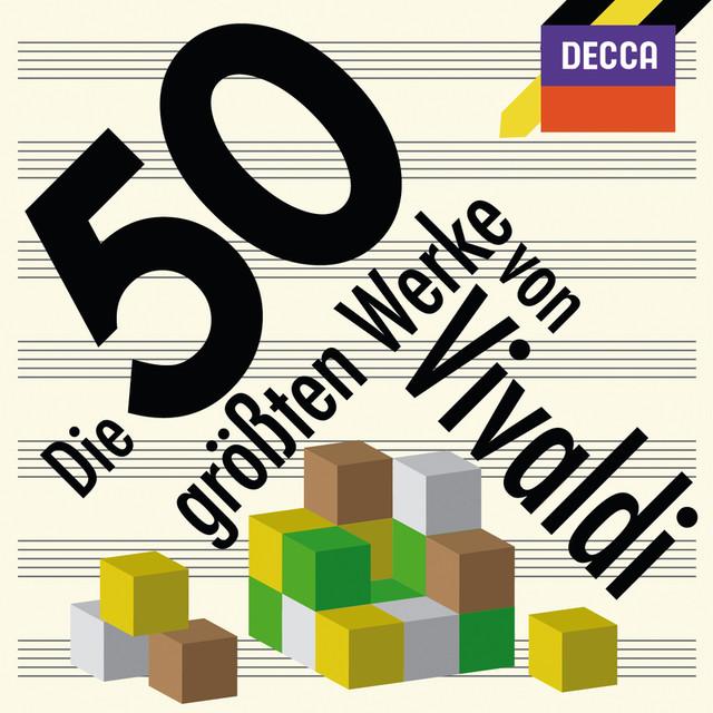 Die 50 größten Werke von Vivaldi Albumcover