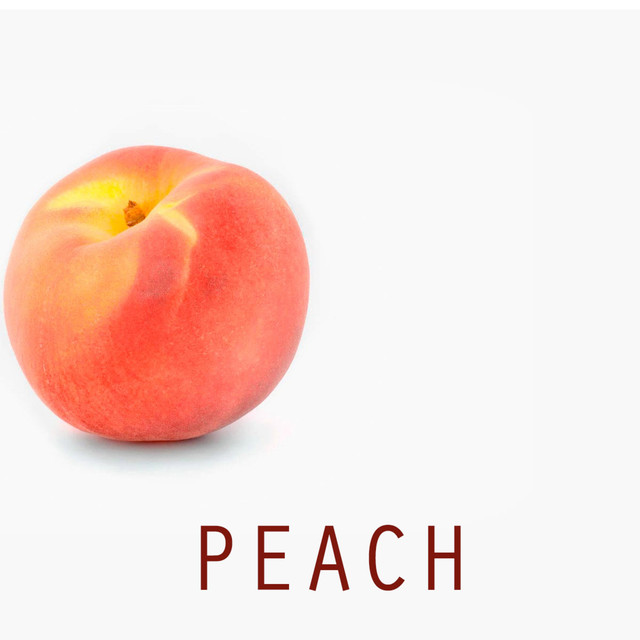 Album cover for Peach by Robby Bright