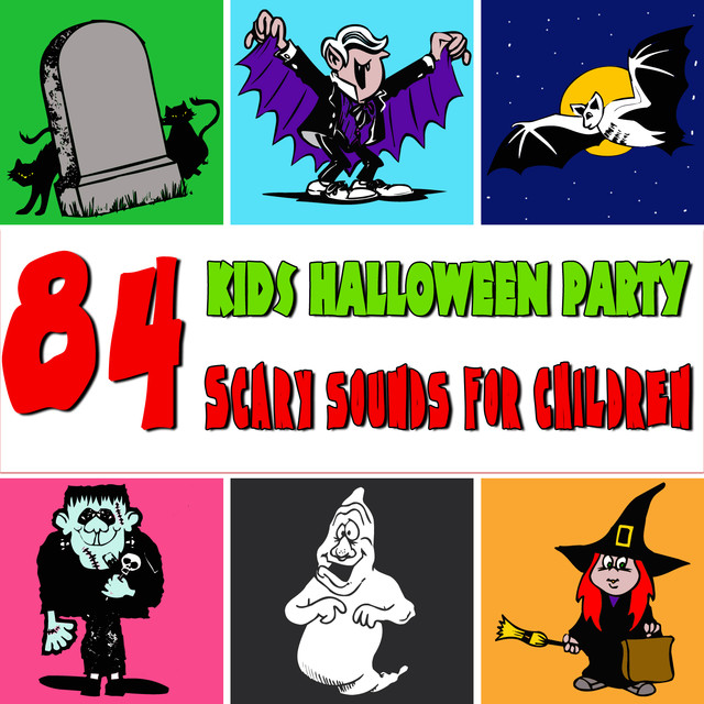 84 Scary Sounds for Children  Kids Halloween Party by Halloween