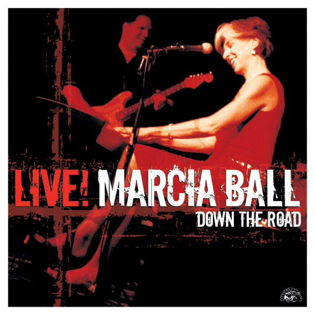 Marcia Ball Live! Down the Road album cover