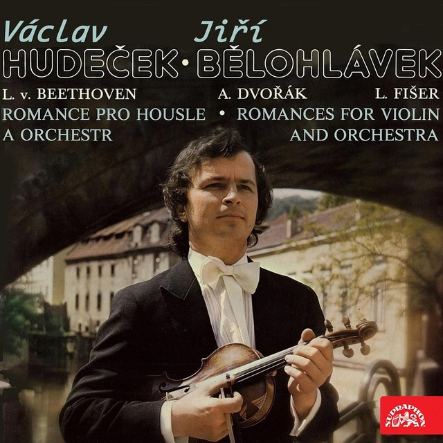 Beethoven, Dvořák, Fišer: Romances for Violin and Orchestra Albumcover