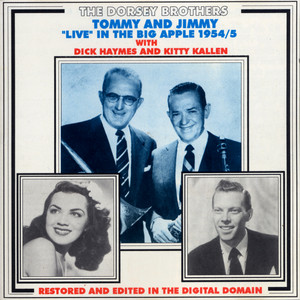 Tommy and Jimmy Live in the Big Apple 1954-55 album