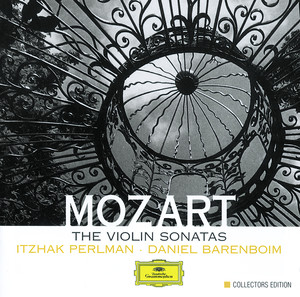 Mozart: The Violin Sonatas Albumcover