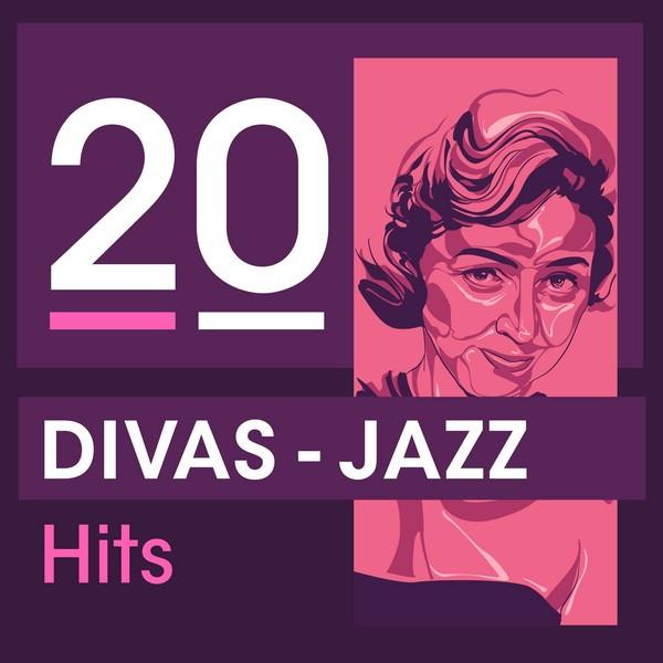 Various Artists 20 Divas - Jazz Hits album cover