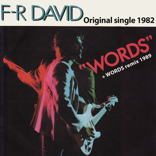 Words (Original Single 1982)