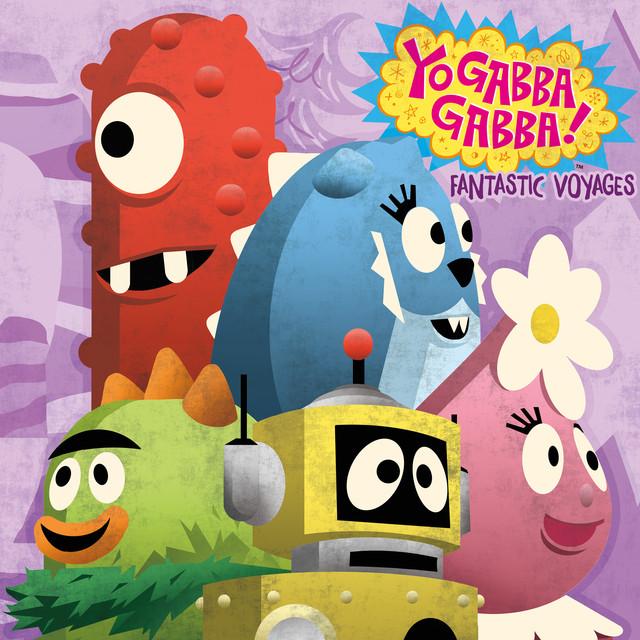 Yo Gabba Gabba Fantastic Voyages album cover