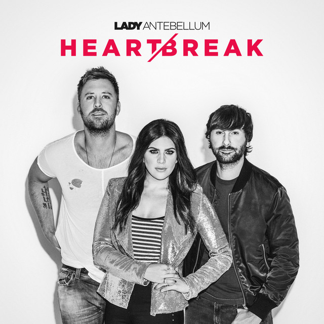 Album cover for Heart Break by Lady Antebellum