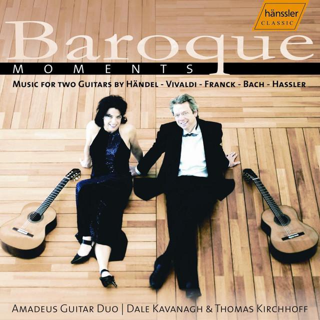 Amadeus Guitar Duo: Baroque Moments Albumcover