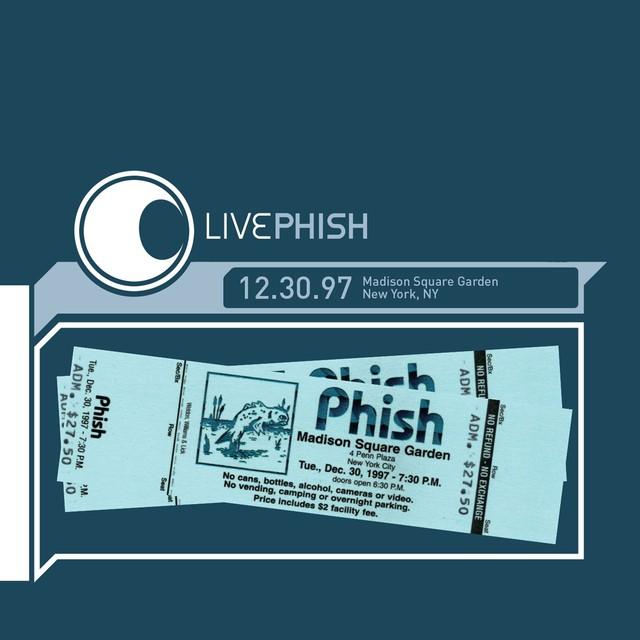 LivePhish 12/30/97 Madison Square Garden, New York, NY Albumcover