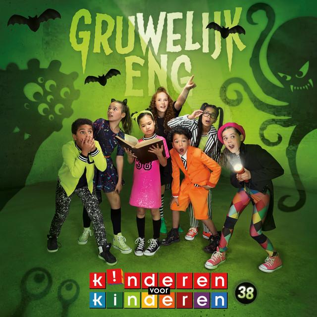 Album cover for 38 - Gruwelijk Eng by Kinderen Voor Kinderen