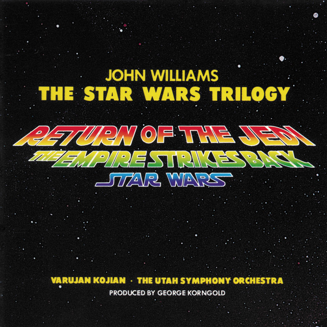 The Star Wars Trilogy: Return Of The Jedi / The Empire Strikes Back / Star Wars (Music From The Motion Picture) Albumcover