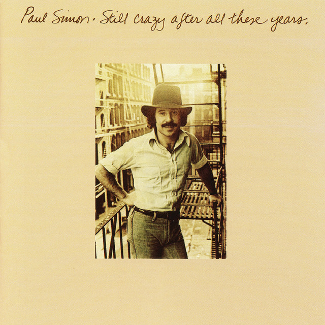 Skivomslag för Paul Simon: Still Crazy After All These Years