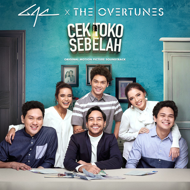Album cover for Cek Toko Sebelah (Original Motion Picture Soundtrack) by TheOvertunes, Gamaliel Audrey Cantika
