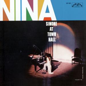 Nina Simone at Town Hall album