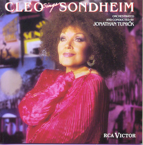 Cleo Sings Sondheim album