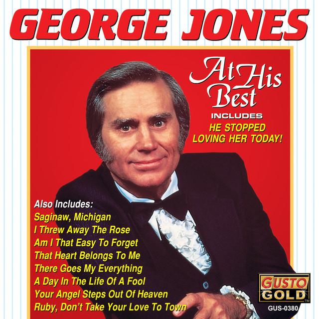 George Jones At His Best album cover