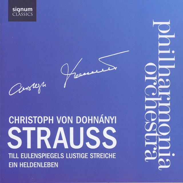 Strauss Till Eulenspiegel And Ein Heldenleben Albumcover