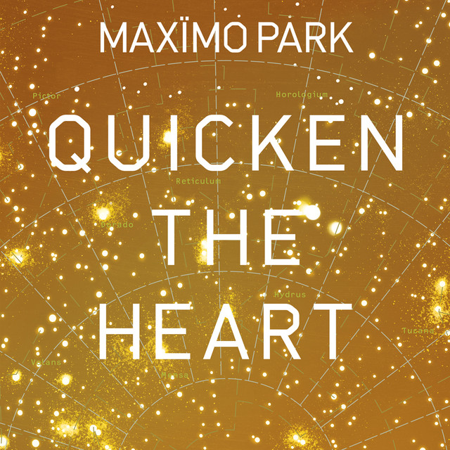Album cover for Quicken The Heart by Maximo Park