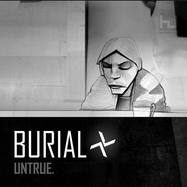 Album cover for Untrue by Burial