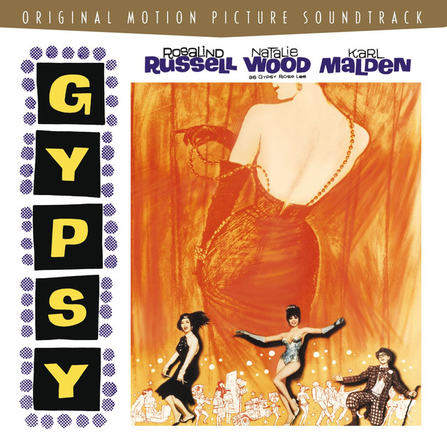 Jule Styne Gypsy - Original Motion Picture Soundtrack album cover