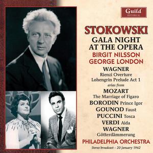 Wagner: Rienzi - Mozart: Le Nozze Di Figaro - Borodin: Prince Igor - Gounod: Faust - Puccini: Tosca - Verdi: Aida album