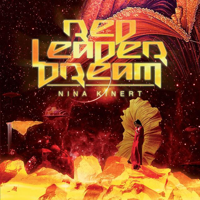 Skivomslag för Nina Kinert: Red Leader Dream