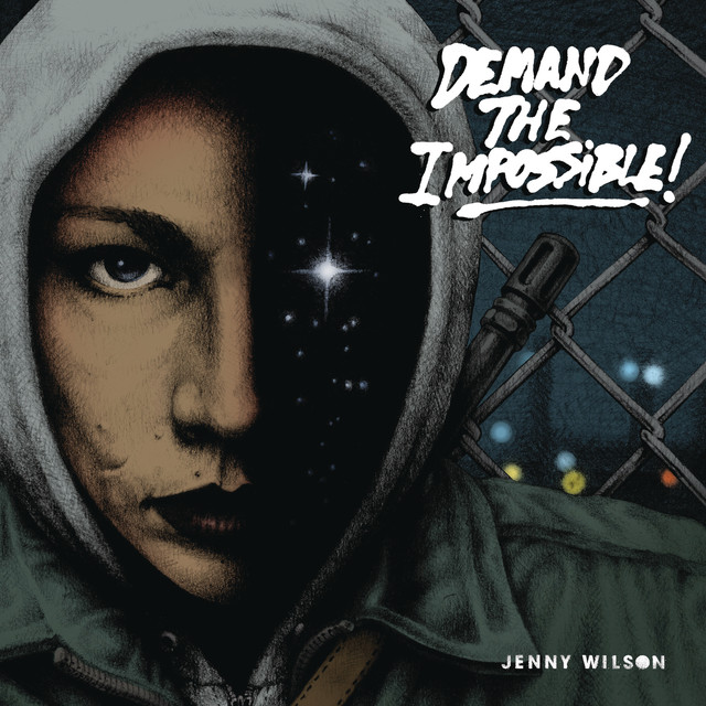 Skivomslag för Jenny Wilson: Demand The Impossible!