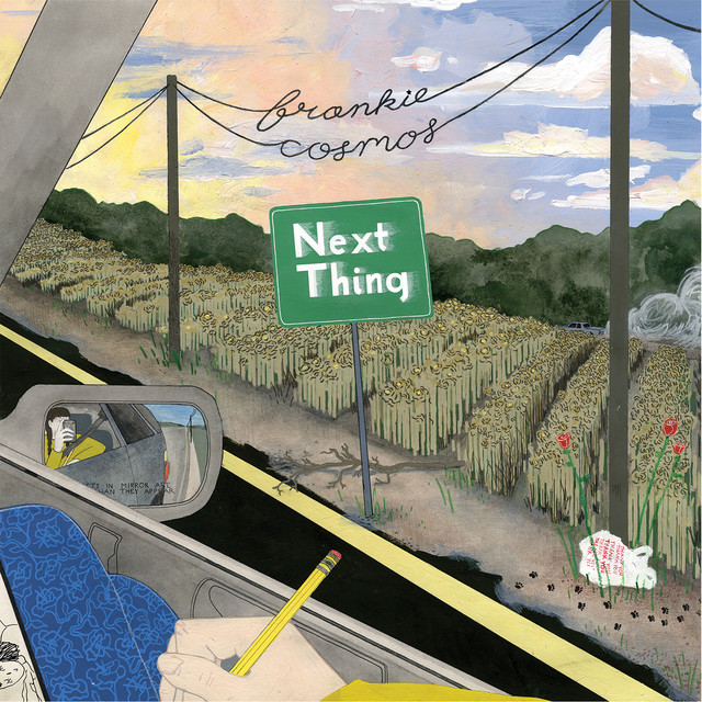 Album cover for Next Thing by Frankie Cosmos