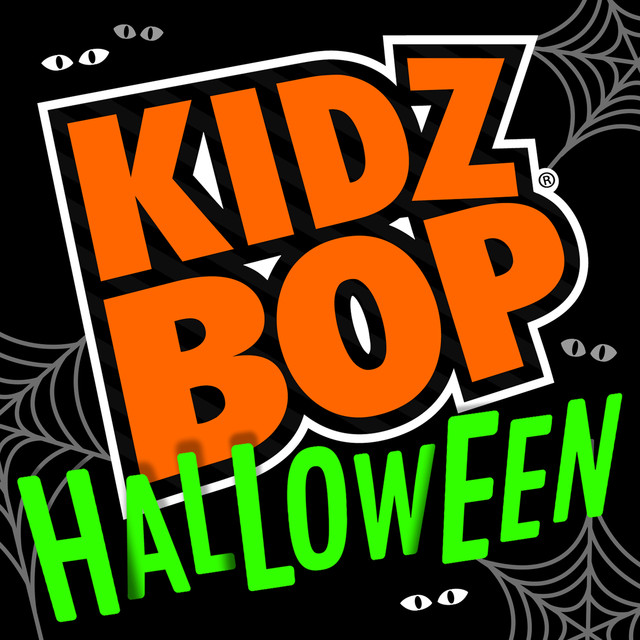 Album cover for KIDZ BOP Halloween by Kidz Bop Kids